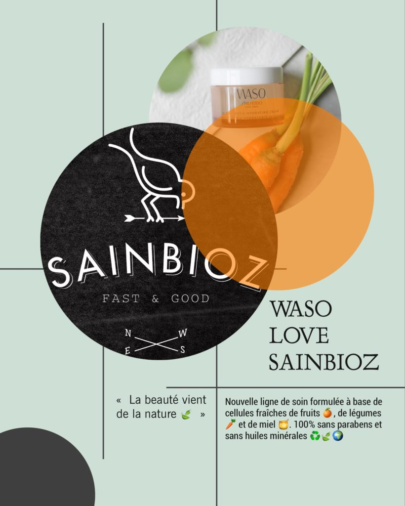 ♻️🍯🥕🍔  WASO LOVE SAINBIOZ 🍔 🥕🍯♻️