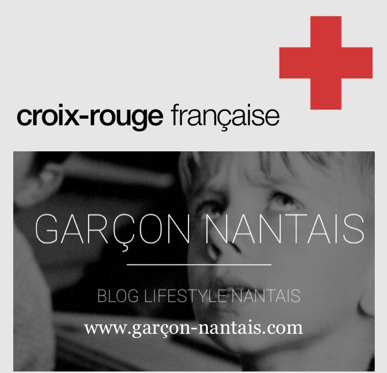 CROIX ROUGE X GARÇON NANTAIS NOËL 2017